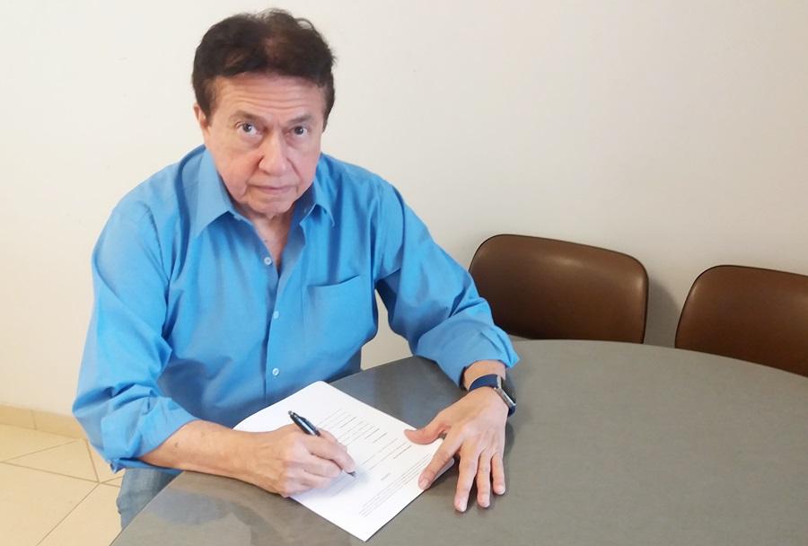 Kleiber Beltrão assina Termo de Posse e segue no comando da ABCD até agosto de 2018.