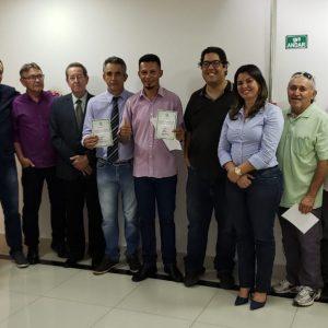 Termo de Posse dos diretores eleitos para o Biênio 2018/2020