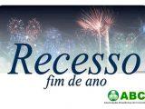 COMUNICADO – RECESSO DE FIM DE ANO ABCD