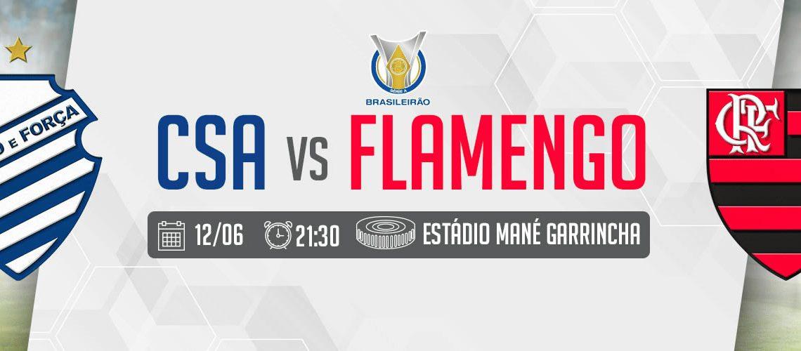 Credenciados – CSA x Flamengo